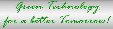 Green Technology for a Better Tomorrow